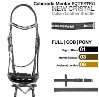 Equestro New Crystal bridle
